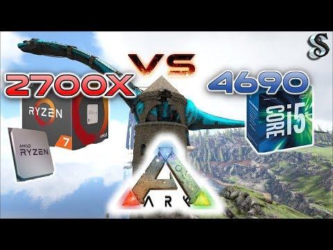 ARK RYZEN 7 2700x CPU Performance Benchmark - Comparing Intel i5 4690 & Ryzen 2700x With a 1080 Ti