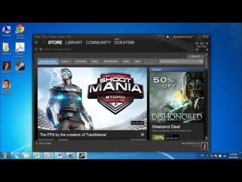 How to Download Games from Steam