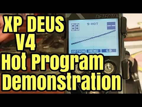 XP Deus Hot Program
