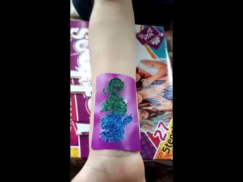 Fab Lab Glitter Tattoos