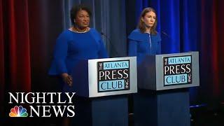 Georgia Dems Choosing Between Two Female Gubernatorial Candidates Named Stacey | NBC Nightly News