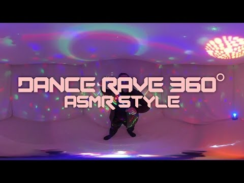 Dance Rave 360° ASMR Style ~ ASMR/Fan Sounds/Binaural