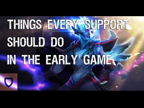 Dota 2: What Supports Should do in the Early Game | How To Play Dota 2 | PVGNA.com