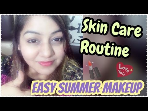 My Mini Skin Care Routine & Daily Office-College Minimal Makeup Tutorial - GRWM