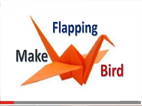Origami Flying Bird Instructions:How To Make a Paper Crane - Origami.