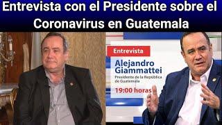 Alejandro Giammattei reactivación económica y plan estrategico ante la situación actua (19/05/2020)