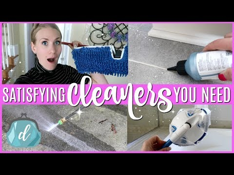 SATISFYING CLEANING TIPS YOU *NEED* TO KNOW 💕 Clean With Me Floor Edition