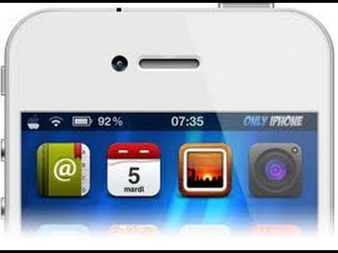 'ArrangeStatusBar' Move Status Bar Icons on iPhone, iPod Touch & iPad