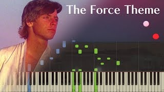Star Wars - The Force Theme - Piano (Synthesia)