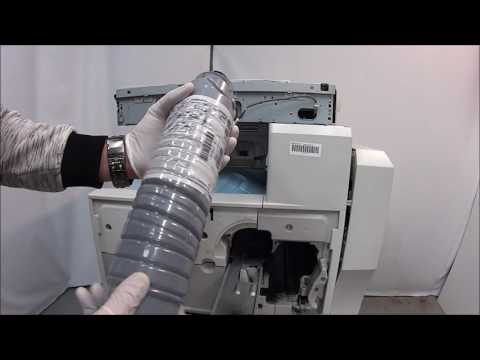 How to Replace Toner in your Ricoh B&W Copier