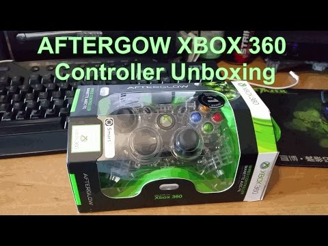 AFTERGLOW Wired XBOX 360 Controller Unboxing & First Impressions