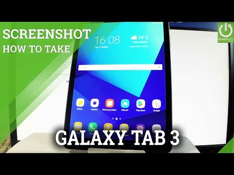 How to Take Screenshot on SAMSUNG Galaxy Tab S3 - Capture Screen