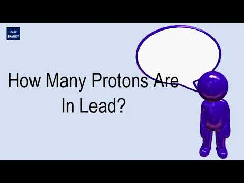 How Many Protons Are In Lead?