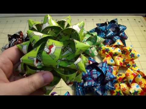 Duct Tape Gift Bows