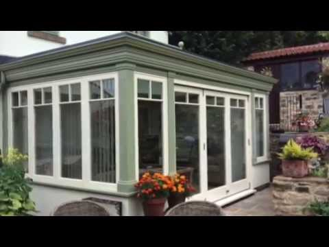 Timber Orangery Build Process