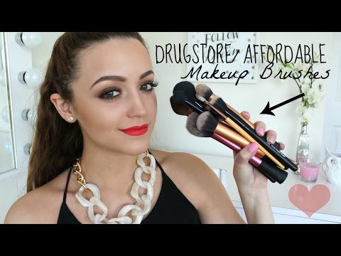 Best Drugstore/ Affordable Makeup Brushes!