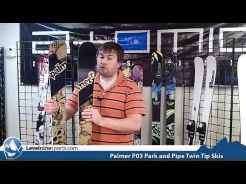 Palmer P03 Park and Pipe Twin Tip Skis