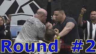Scot Mendelson vs Jonathan Hoffman Championship Armwrestling Finals #2 at 2018 LA Fit Expo