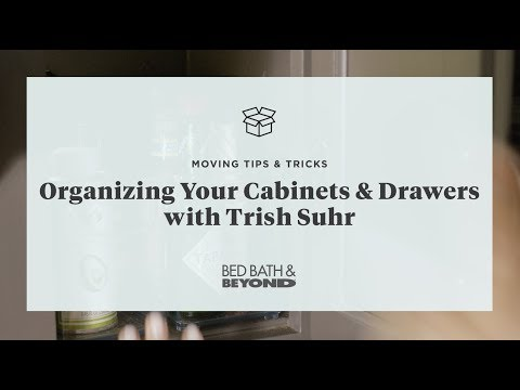 Moving Tips & Tricks: Organizing Your Cabinets & Drawers