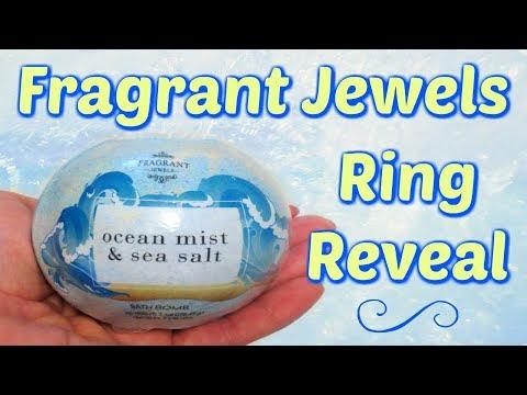 Fragrant Jewels Ring Reveal - Ocean Mist & Sea Salt Bath Bomb!