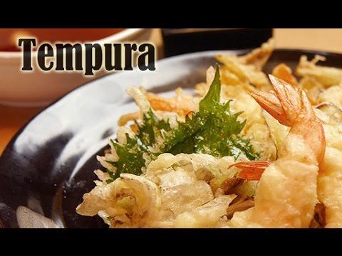 How to make Perfect Tempura (RECIPE) -天ぷらの作り方