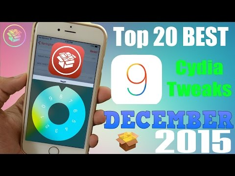 Top 20 NEW Cydia Tweaks for iOS 9 to 9.0.2 - December 2015