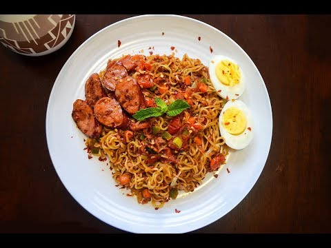 Fastest Indomie Noodles Ever Made In 2 Minutes