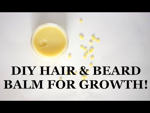 DIY Hair and Beard Balm | Hair Pomade For FAST GROWTH