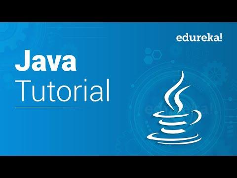 Java Tutorial for Beginners | Java Programming Tutorial | Java Basics | Java Training | Edureka