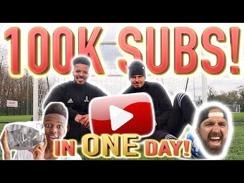 HOW TO GAIN 100,000 SUBSCRIBERS IN 24 HOURS!