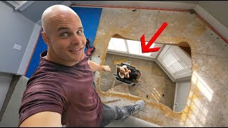 How to Install an Elevator in your Living Room!