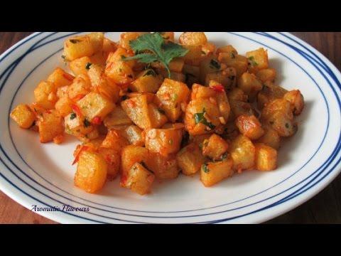 Batata Harra   Spicy Potato   Lebanese Recipe   Vegetarian Recipe