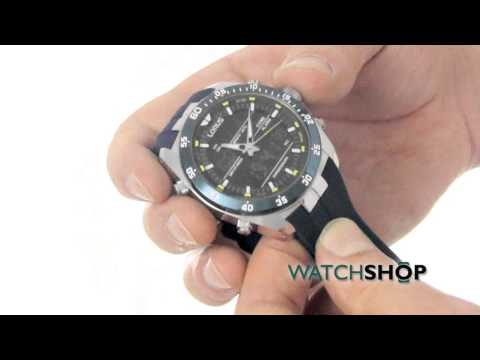 Men's Lorus Alarm Chronograph Watch ( RW617AX9 )
