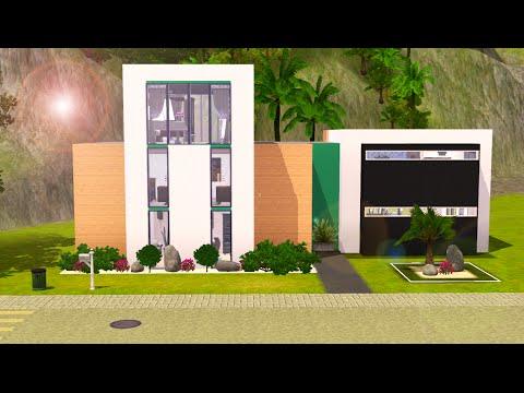 Sims 3 Speed Build - Oceanside Modern