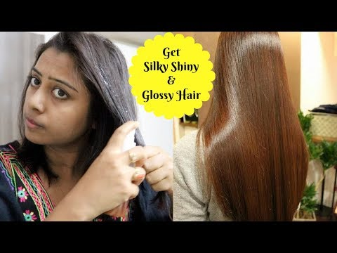 How To make my Hair Super Glossy and Shiny