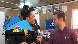Go behind the scenes at the Olympics with Tara Lipinski and Johnny Weir