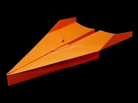 How to make a Paper airplane that FLIES FAR ~100 Feet - BEST paper planes in the world . Cora