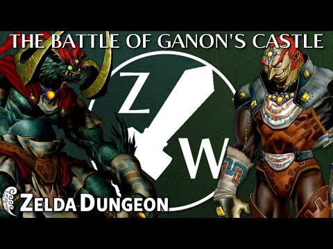 The Battle of Ganon's Castle - Zelda Warfare