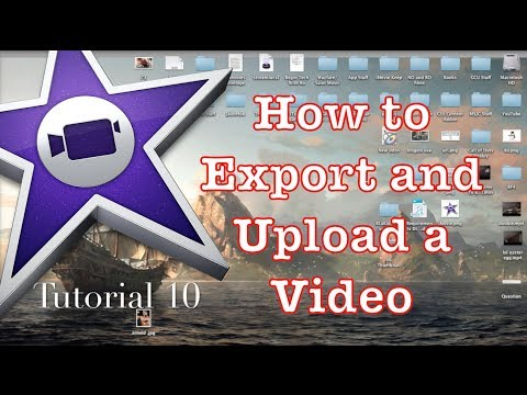 How to Export in iMovie 10.0.1 #1   Tutorial 10