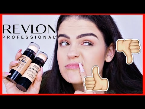 NEW REVLON INSTA FILTER FOUNDATION REVIEW