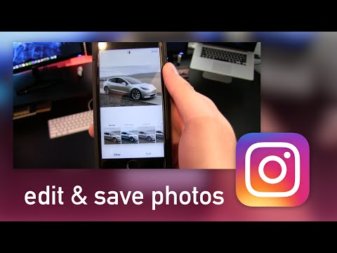 How to Edit & Save Your Instagram Photos Without Posting!