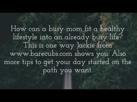 how to fit wellness into your daily life. include children into exercise.