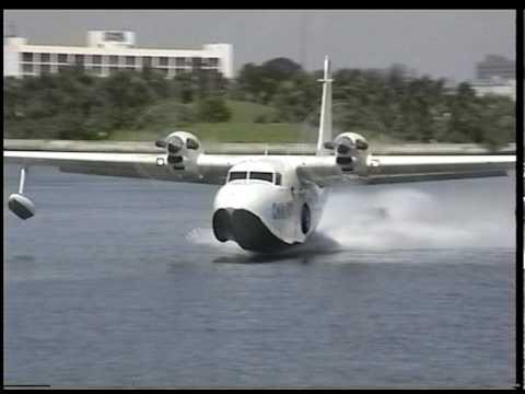 Grumman G 73T Mallard Landing,AQZUZ - VideosTube