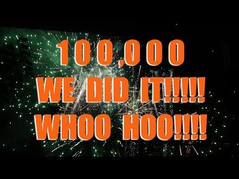100,000 Whoo Hoo!!