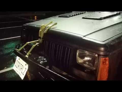 89 Cherokee Dead Pedal Install