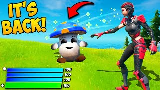 *NEW* HEALING MUSHROOM PET IS BACK! - Fortnite Funny Fails and WTF Moments! #952