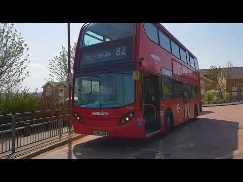 Blind change on Metroline TE882 (LK08DXU)