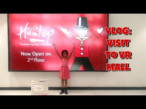Vlog - Visit to VR Malls in Bangalore City - Hamleys Toys RC car shopping and haul