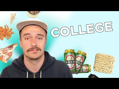 I Survived On A College Food