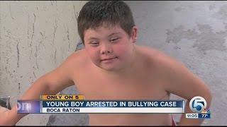 Young boy arrested in bullying case